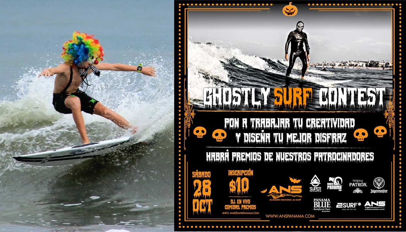 Ghostly Surf Contest Panama