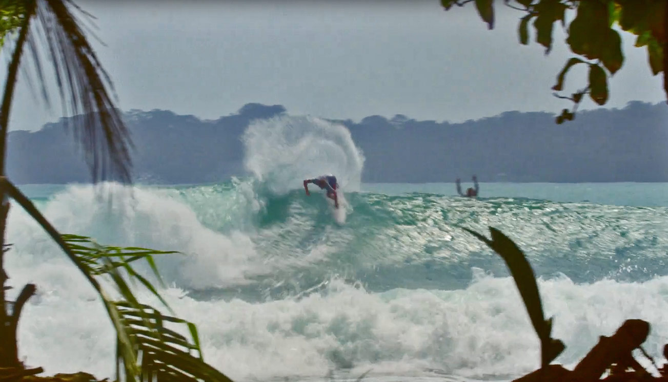 Panama is certain surfing